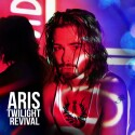 "Aris ""Twilight Revival"" CD cover and website link."