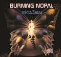 "Burning Nopal ""Miscellanea"" CD cover and website link."