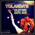 """Rev Yolanda's Old Time Gospel Hour"" Soundtrack CD cover and website link."