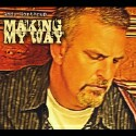 "Andy Northrup ""Making My Way' CD cover and website link."