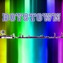 "Mark Ortega's new song ""Boystown"" art and website link."