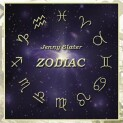 "Jenny Slater ""Zodiac"" CD cover and website link."